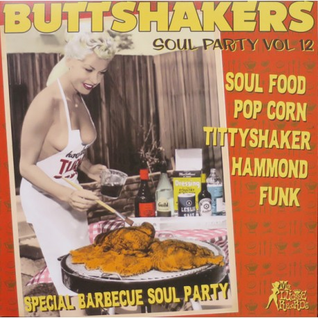 "VV.AA. ""Buttshakers Soul Party Vol. 12"" LP."