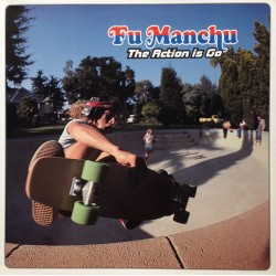 "FU MANCHU ""The Action Is Go"" 2LP Color."