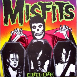 """MISFITS """"Evil Live"""" LP."""