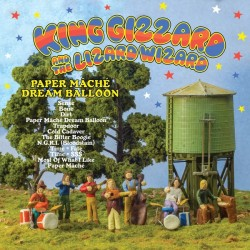 "KING GIZZARD AND THE LIZARD WIZARD ""Paper Mâché Dream Balloon"" LP Color."