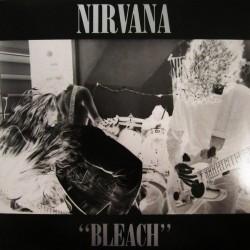 """NIRVANA """"Bleach"""" LP."""