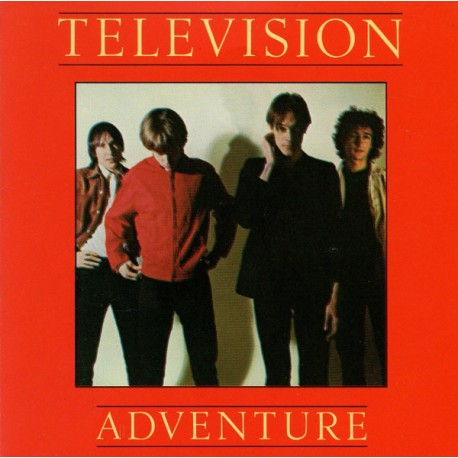 """TELEVISION """"Adventure"""" LP."""