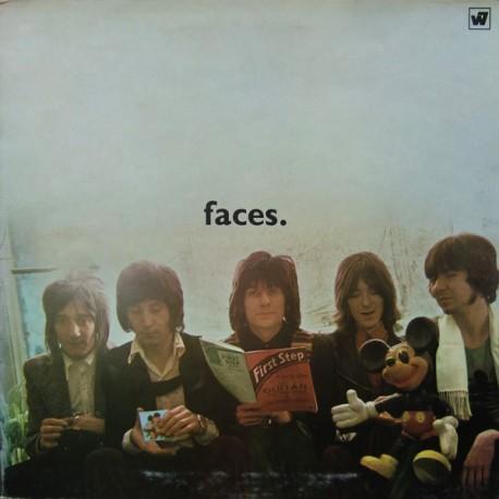 "FACES ""First Step"" LP Color."