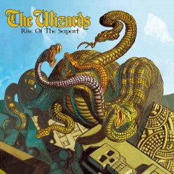 """WIZARDS """"Rise Of The Serpent"""" LP."""