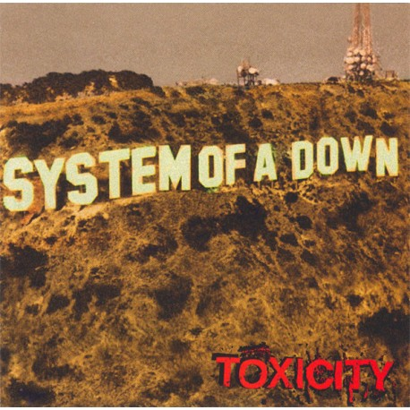 """SYSTEM OF A DOWN """"Toxicity"""" LP."""