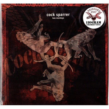 "COCK SPARRER ""Two Monkeys"" LP 180GR Color."