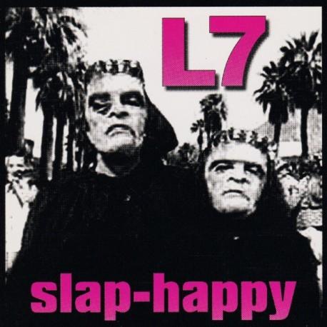 """L7 """"Slap-Happy"""" LP Color."""