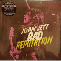 "JOAN JETT ""bad Reputation"" LP Color."