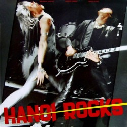 "HANOI ROCKS ""Bangkok Shocks, Saigon Shakes"" LP."