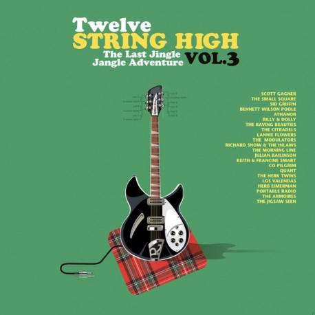 "VV.AA. ""Twelve String High Vol.3"" CD."