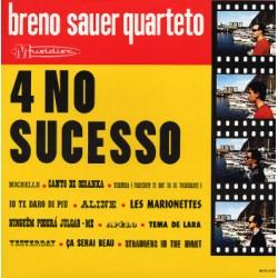 "BRENO SAUER QUARTETO ""4 No Sucesso"" LP."