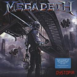 """MEGADETH """"Dystopia"""" LP."""