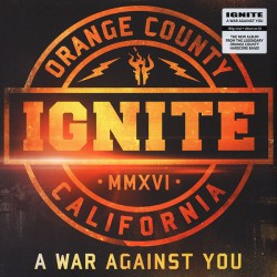 "IGNITE ""A War Against You"" LP+CD."