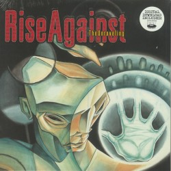 "RISE AGAINST ""The Unraveling"" LP."