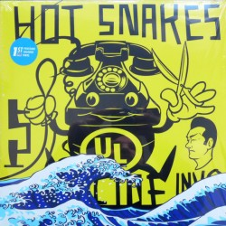 "HOT SNAKES ""Suicide Invoice"" LP Color."