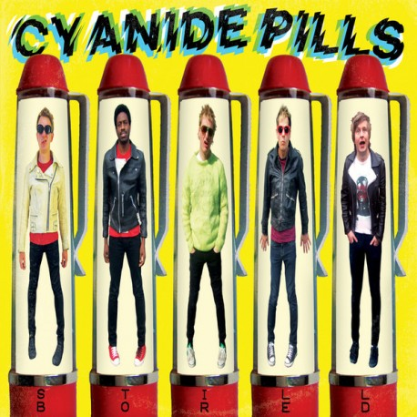 "CYANIDE PILLS ""Still Bored"" LP Color."
