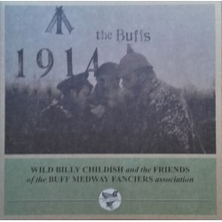 """WILD BILLY CHILDISH & THE BUFF MEDWAYS """"1914"""" LP Color."""