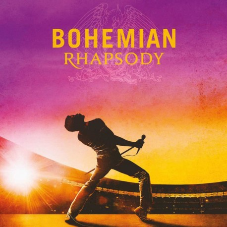 "B.S.O. ""Queen - Bohemian Rhapsody"" CD."