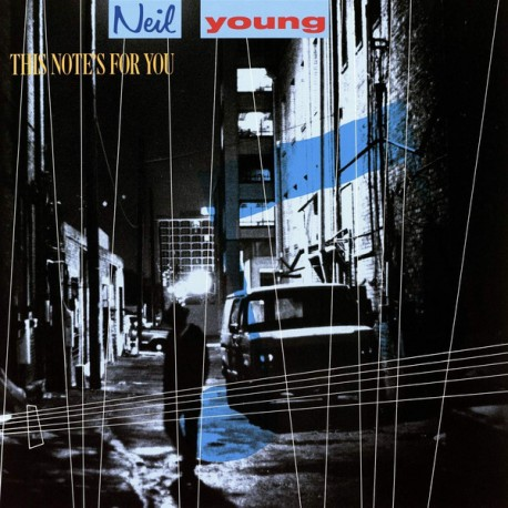"NEIL YOUNG ""This Note's For You"" LP."