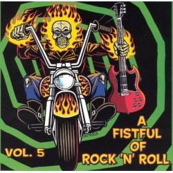 """VV.AA. """"A Fistful Of Rock'n'Roll Vol. 5"""" LP."""