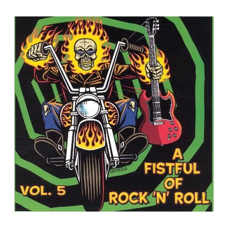 "VV.AA. ""A Fistful Of Rock'n'Roll Vol. 5"" LP."