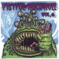 """VV.AA. """"A Fistful Of Rock'n'Roll Vol. 6"""" LP."""