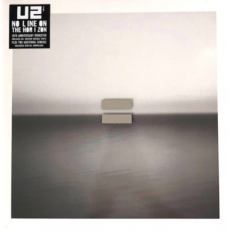 "U2 ""No Line On The Horizon"" 2LPs 180GR."