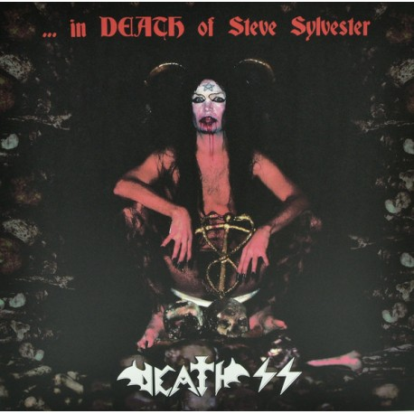 "DEATH SS ""...In Death Os Steve Sylvester"" 2LPs COLOR."