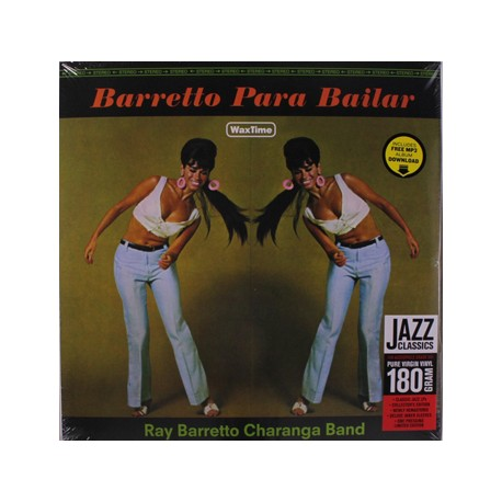 "RAY BARRETTO CHARANGA BAND ""Barretto Para Bailar"" LP"