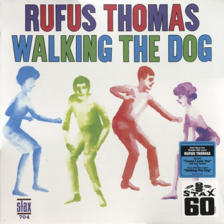 "RUFUS THOMAS ""Walking The Dog"" LP 180GR."