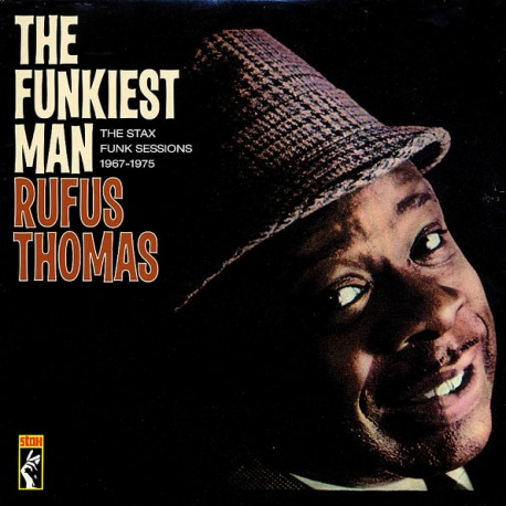 "RUFUS THOMAS ""The Funkiest Man"" 2LP."