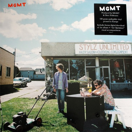 """MGMT """"Mgmt"""" LP 180GR."""