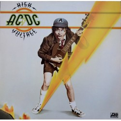 "AC/DC ""High Voltage"" LP."