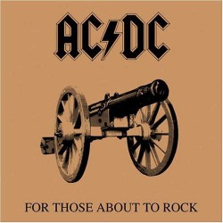 "AC/DC ""For Those About To Rock"" LP 180GR."