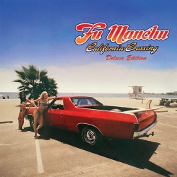 "FU MANCHU ""California Crossing"" 3LPs Color Deluxe Edition."