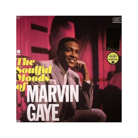 "MARVIN GAYE ""The Soulful Moods"" LP"