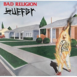 "BAD RELIGION ""Suffer"" LP."