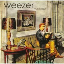 "WEEZER ""Maladroit"" LP."