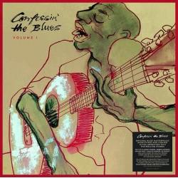 """VV.AA. """"Confessin' The Blues Vol.1"""" 2LPs"""