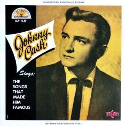 """JOHNNY CASH """"Sings The Songs That Made Him Famous"""" LP Color."""