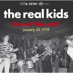 """REAL KIDS """"Live At The Rat!"""" LP."""