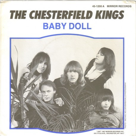"CHESTERFIELD KINGS ""Baby Doll"" SG 7"""
