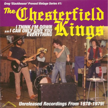 "CHESTERFIELD KINGS ""I Think I'm Down"" SG 7"""