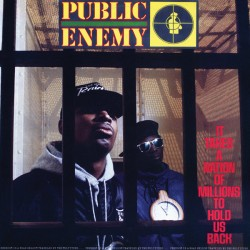 "PUBLIC ENEMY ""It Takes A Nation Of Millions To Hold Us"" LP 180GR."