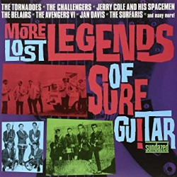 "VV.AA. ""More Lost Legends Of Surf Guitar"" 2LPs."