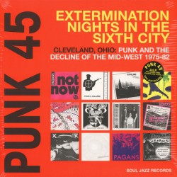 "VV.AA. ""Punk 45: Extermination Nights In The Sixth City"" 2LPs."