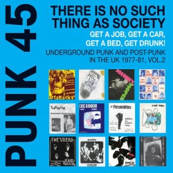 "VV.AA. ""Punk 45: There Is No Such Thing As Society"" 2LPs."