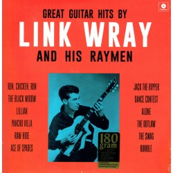 "LINK WRAY & HIS RAYMEN ""Great Guitar Hits"" LP 180GR."