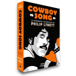 "PHILIP LYNOTT ""Cowboy Song"" Libro Thin Lizzy"