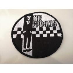 """PARCHE THE SPECIALS """"Logo Ska"""" Circular."""